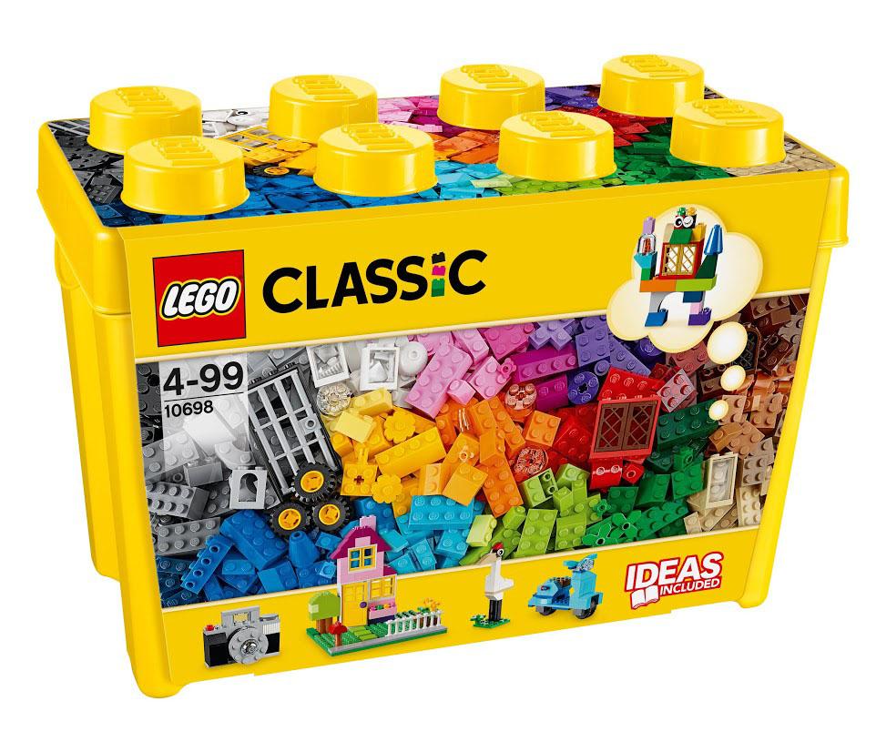 LEGO Classic 10698 Набор для творчества большого размера Конструктор
