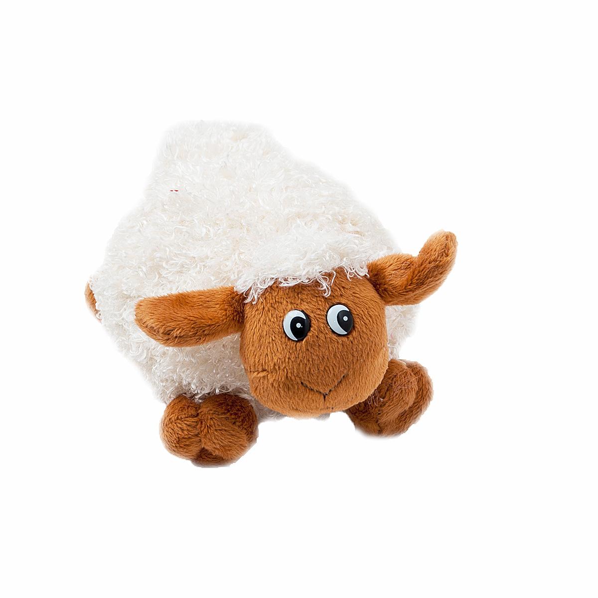 Мягкая озвученная игрушка Fancy Овечка Окей, 18 см мягкая игрушка sima land овечка на присосках 18 см 332770