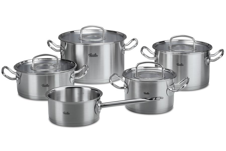 Набор кастрюль Fissler, серия Original pro collection, 5 пр. 8413605 набор посуды fissler 8412325