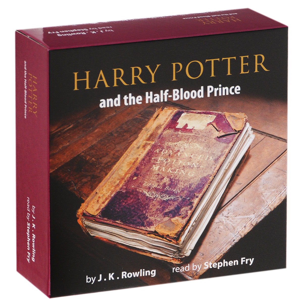 Harry Potter and the Half-Blood Prince (аудиокнига на 17 CD)