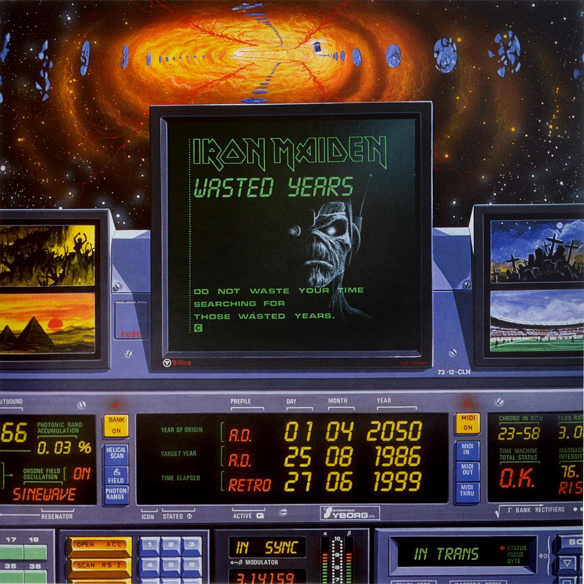 Iron Maiden Iron Maiden. Wasted Years (LP) кендрик ламар kendrick lamar damn 2 lp