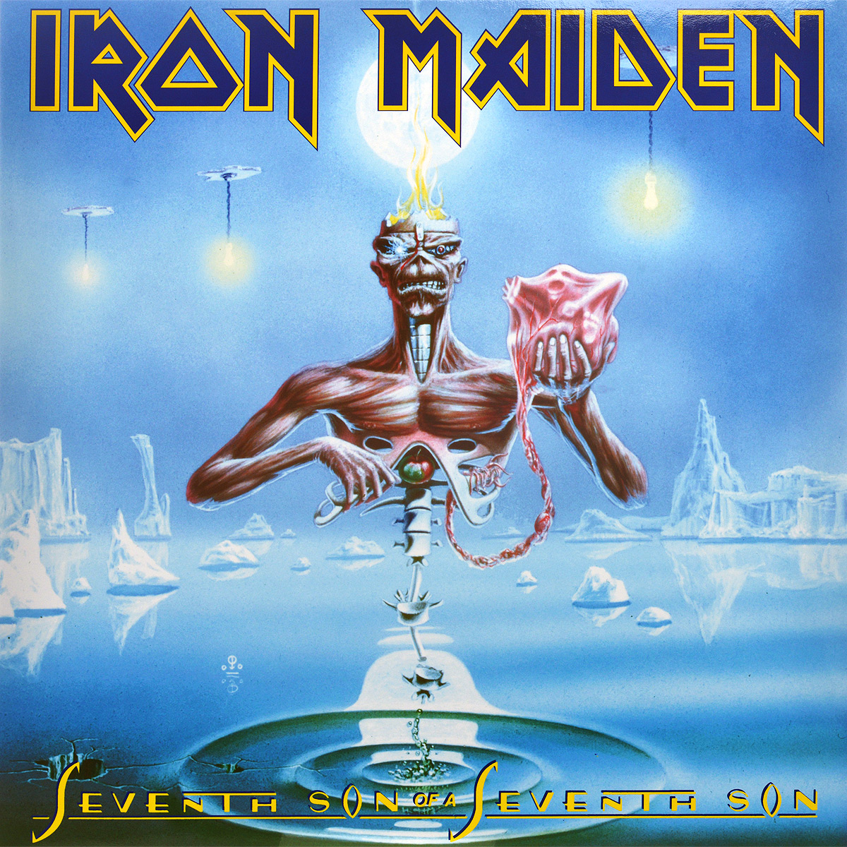 Iron Maiden Iron Maiden. Seventh Son Of A Seventh Son (LP) оправа seventh street seventh street se045dwcqyi4