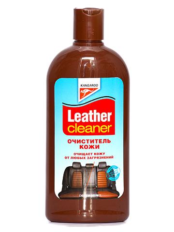 Очиститель кожи Kangaroo Leather Cleaner, 300 мл очиститель кондиционер кожи autoprofi средство для бережного ухода за кожаным салоном автомобиля и другими изделиями из кожи триггер 500мл