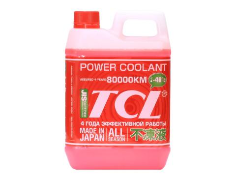 """Антифриз TCL """"Power Coolant"""" для Toyota и Daihatsu, готовый, цвет: красный, 2 л"""