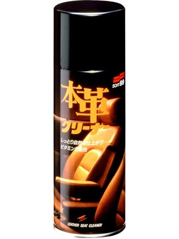 Очиститель кожи Soft99 Leather Seat Cleaner, мусс, 300 мл очиститель кондиционер кожи autoprofi средство для бережного ухода за кожаным салоном автомобиля и другими изделиями из кожи триггер 500мл