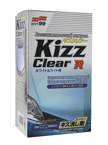 Полироль для кузова восстанавливающий Soft99 Kizz Clear R W&L для светлых а/м, 270 мл полироль кузова soft99 dark