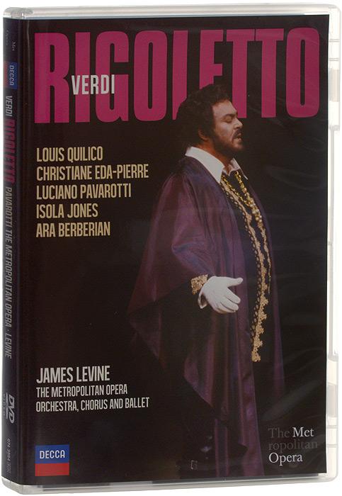 Verdi: Rigoletto. Pavarotti / The Metropolitan Opera / Levine verdi james levine luisa miller