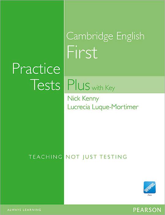 Cambridge English: First Practice Tests Plus with Key (+ CD-ROM) ket practice tests plus