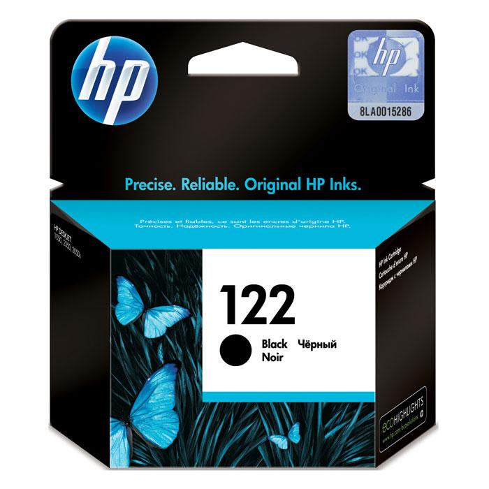 Картридж HP 122 (CH561HE), черный, для струйного принтера, оригинал
