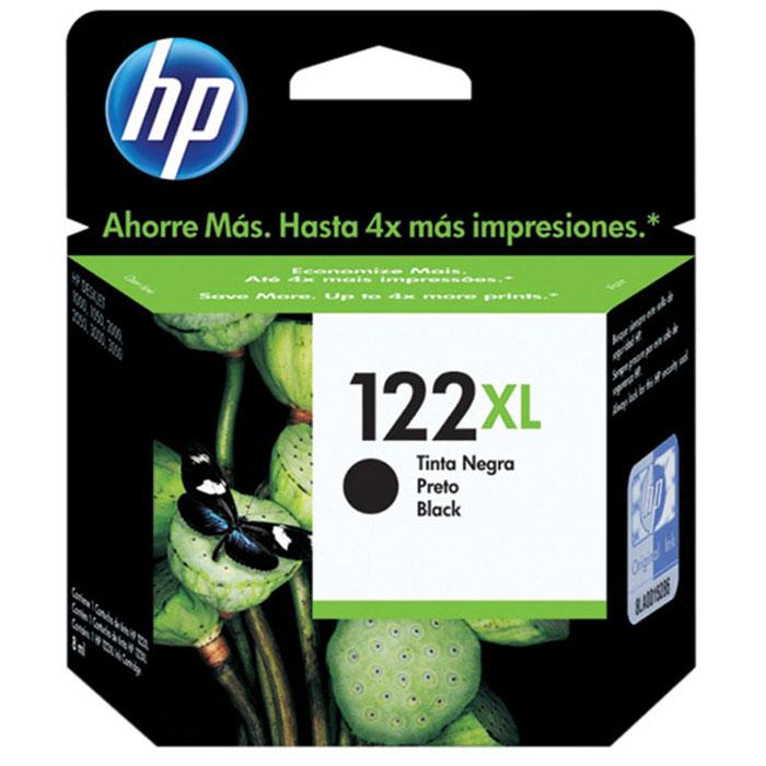 Картридж HP 122XL (CH563HE), черный картридж hp 122xl многоцветный [ch564he]