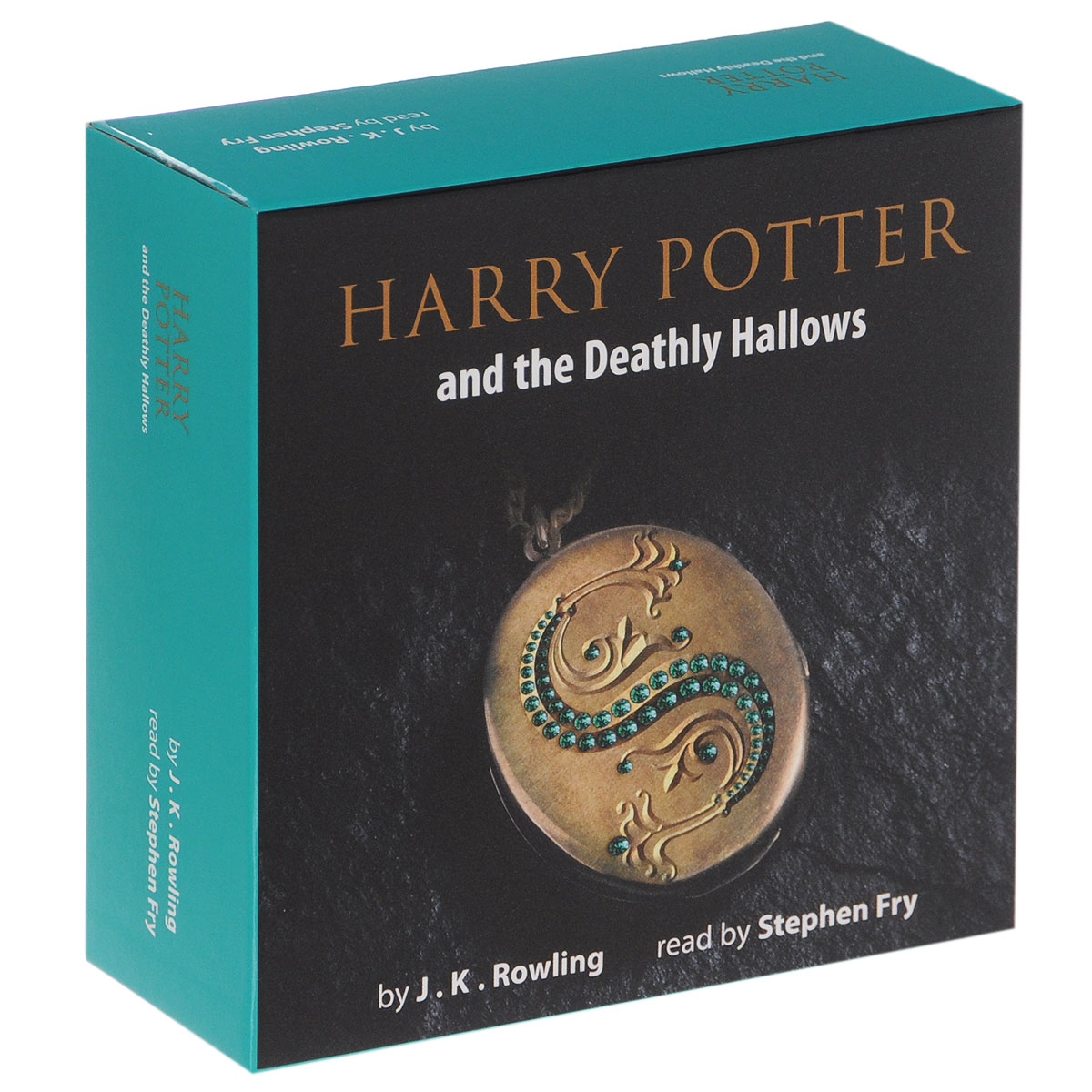 Harry Potter and the Deathly Hallows (аудиокнига на 20 CD)