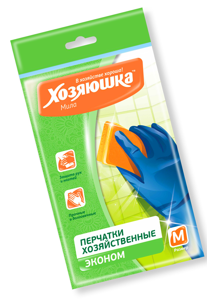Перчатки хозяйственные Хозяюшка Мила
