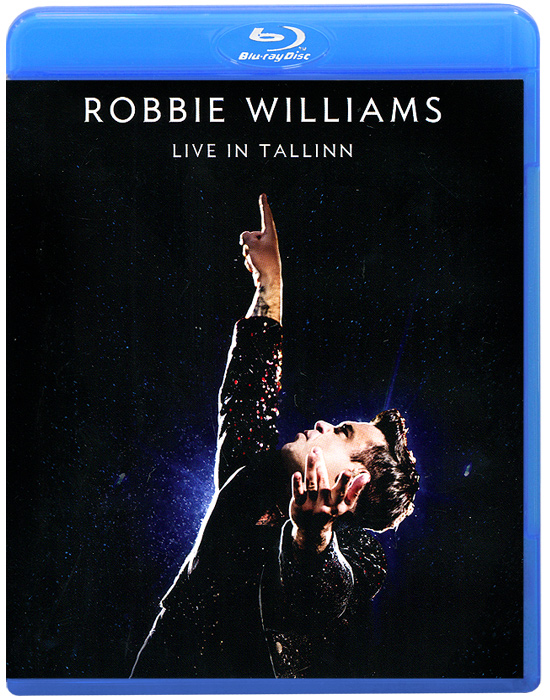 Robbie Williams. Live In Tallinn (Blu-ray) robbie williams robbie williams swings both ways 2 lp