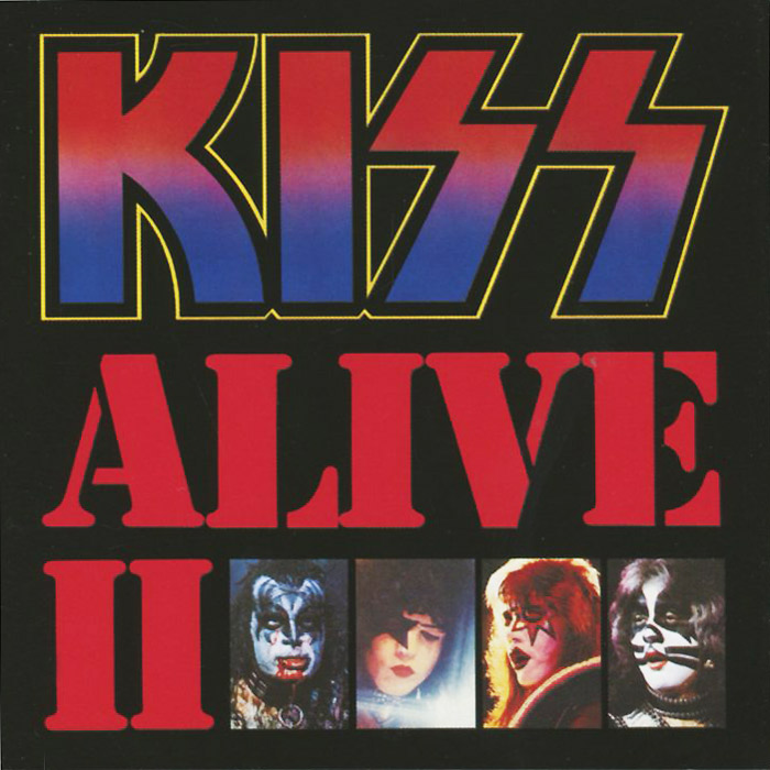 Kiss Kiss Alive Ii 2 CD
