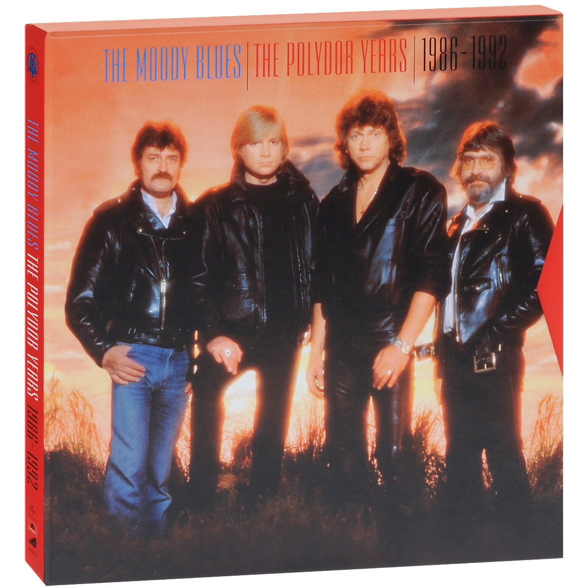 """""""The Moody Blues"""" Moody Blues. The The Polydor Years 1986-1992 (6 CD + 2 DVD)"""