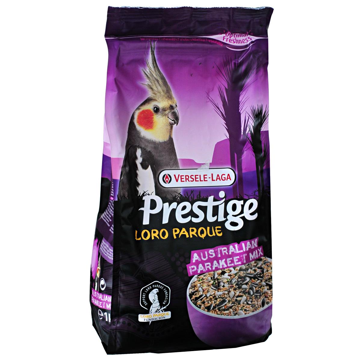 Корм для средних австралийских попугаев Versele-Laga Australian Parakeet, 1 кг витамины б12