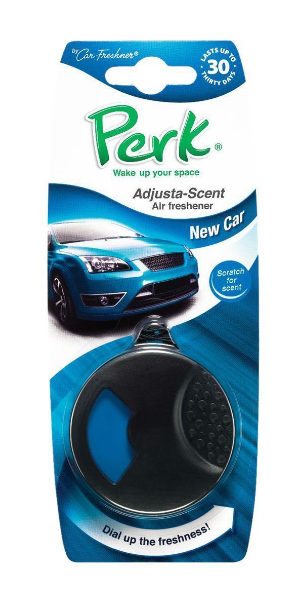 Ароматизатор подвесной с дозатором Perk Новое авто (New Car) ароматизатор для авто new 6 35 12v