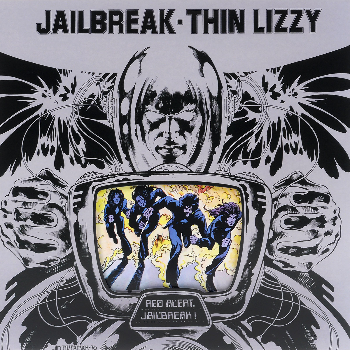 Thin Lizzy Thin Lizzy. Jailbreak (LP) гитара oem guitar lp lp thin cherry burst