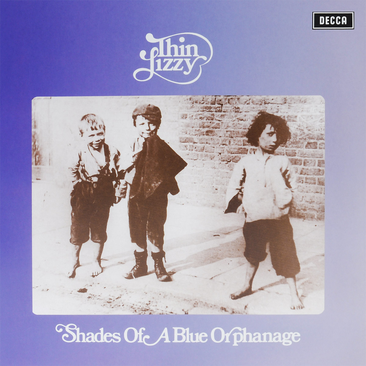 Thin Lizzy Thin Lizzy. Shades Of A Blue Orphanage (LP) гитара oem guitar lp lp thin cherry burst