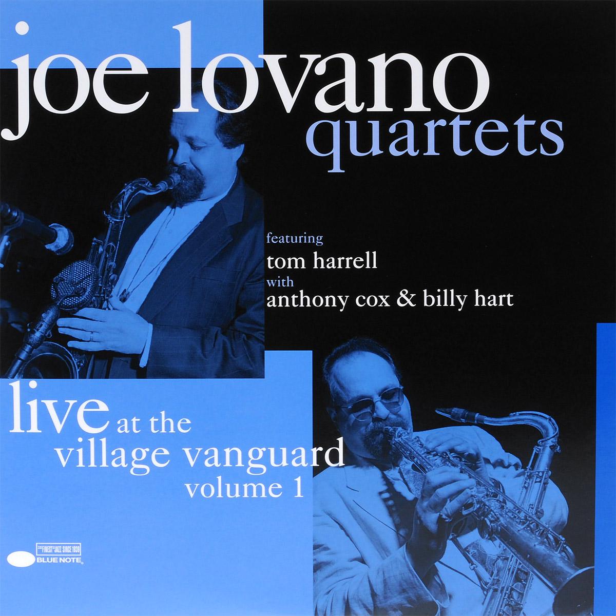 Joe Lovano Quartets Joe Lovano Quartets. Live At The Village Vanguard Volume 1 (2 LP) who who live at hyde park 3 lp