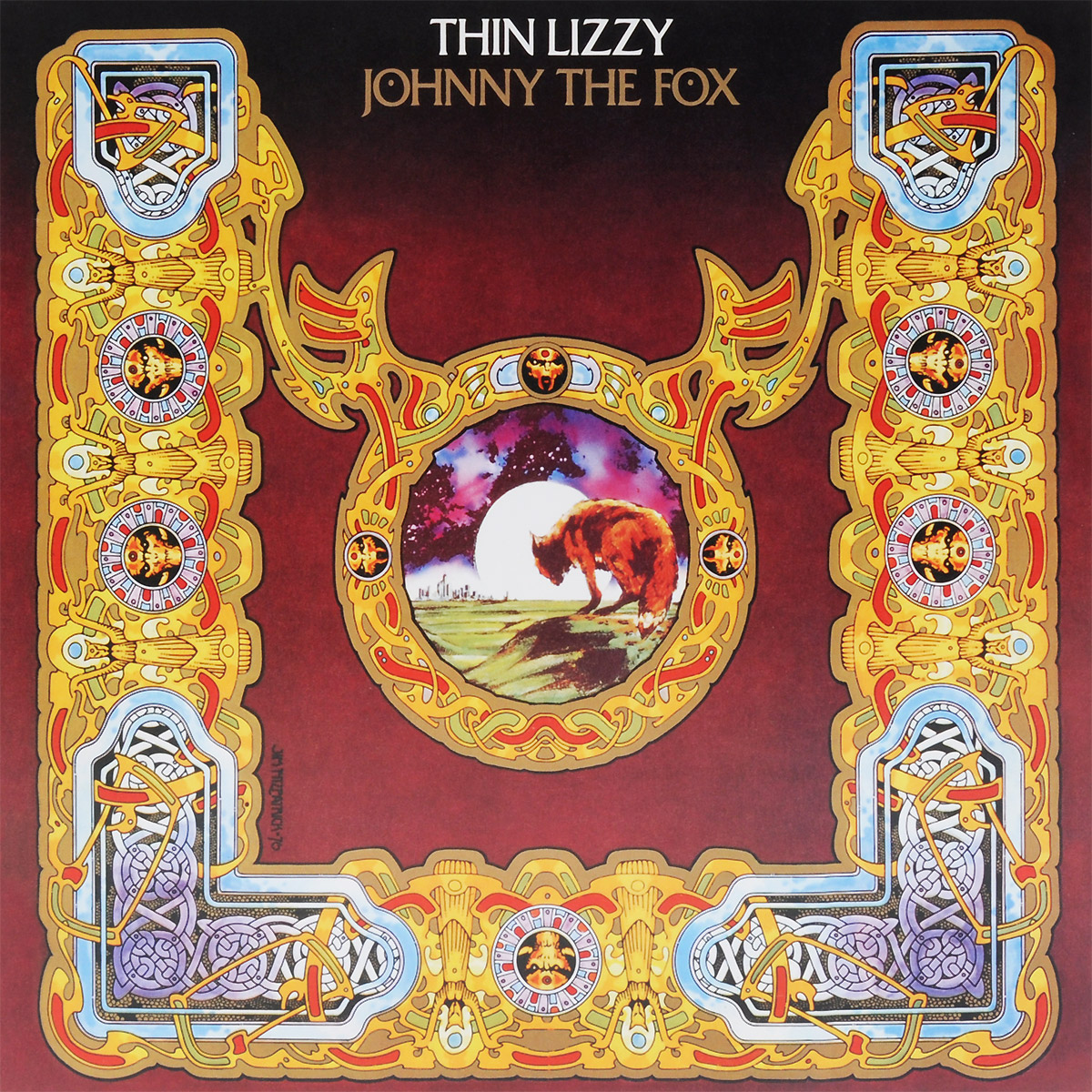 Thin Lizzy Thin Lizzy. Johnny The Fox (LP) гитара oem guitar lp lp thin cherry burst