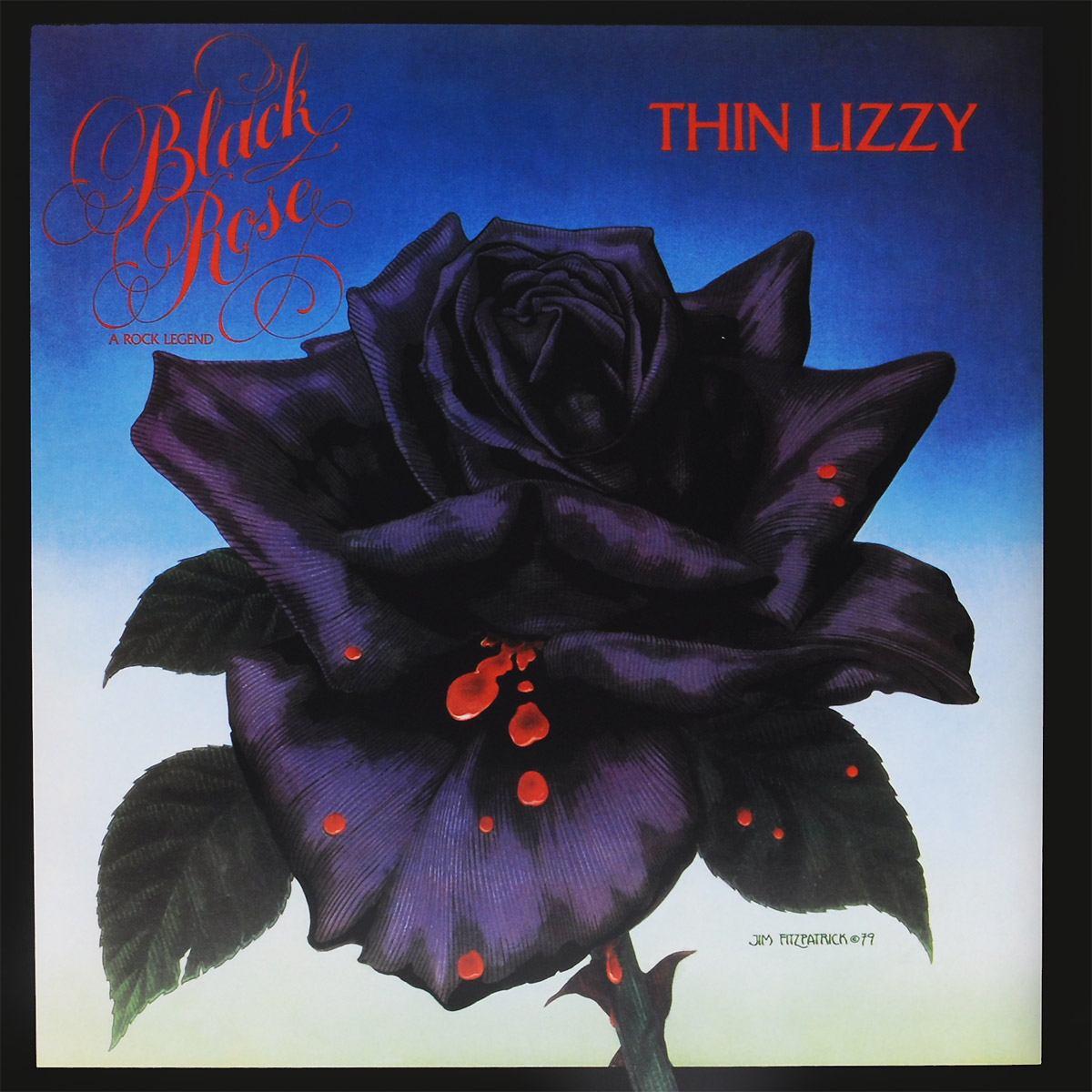 Thin Lizzy Thin Lizzy. Black Rose (LP) гитара oem guitar lp lp thin cherry burst