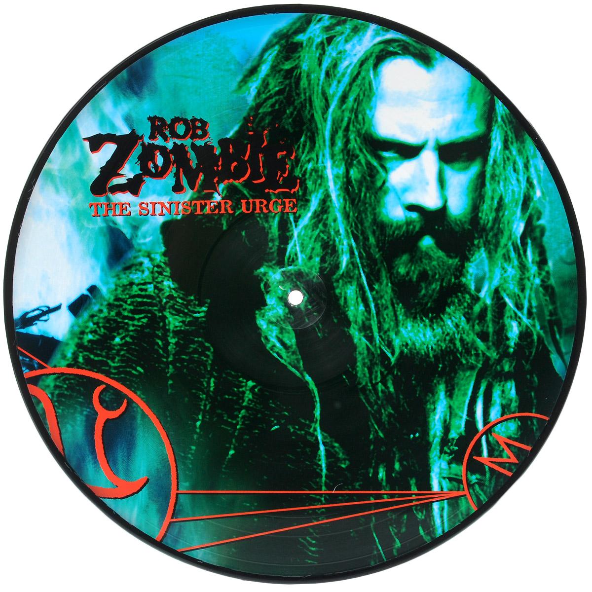 Роб Зомби Rob Zombie. The Sinister Urge (LP) rob zombie rob zombie zombie live 2 lp