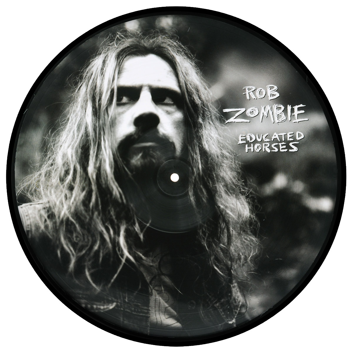 Роб Зомби Rob Zombie. Educated Horses (LP)