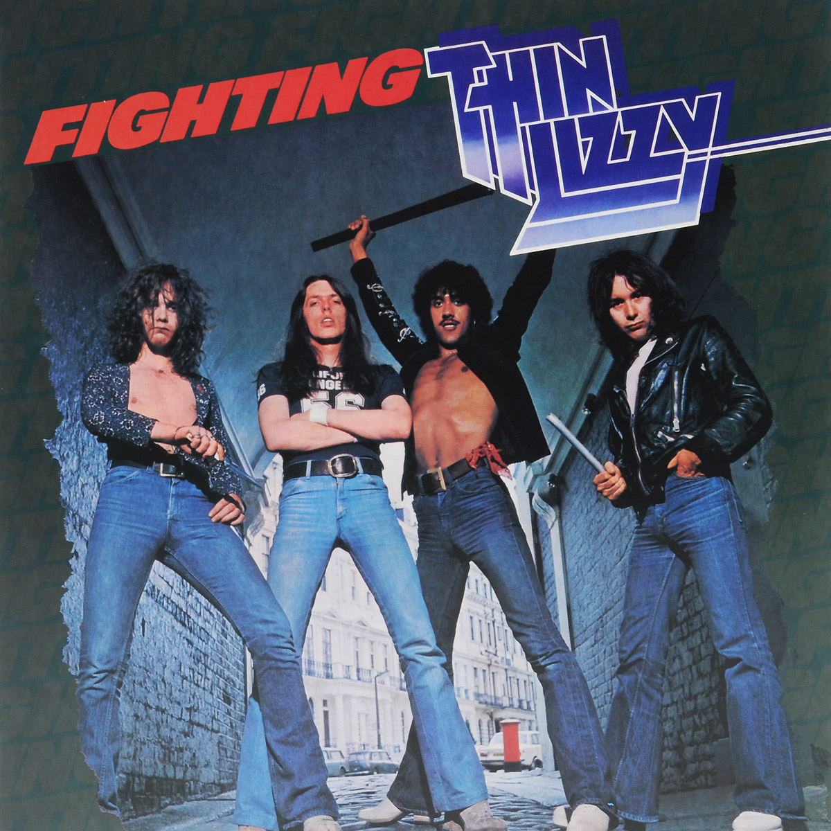 Thin Lizzy Thin Lizzy. Fighting (LP) гитара oem guitar lp lp thin cherry burst