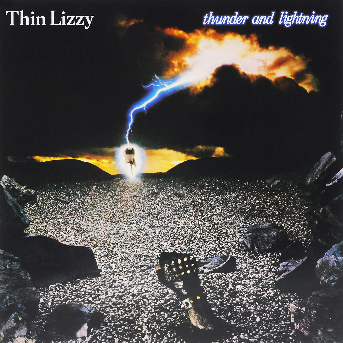 Thin Lizzy Thin Lizzy. Thunder And Lightning (LP) гитара oem guitar lp lp thin cherry burst
