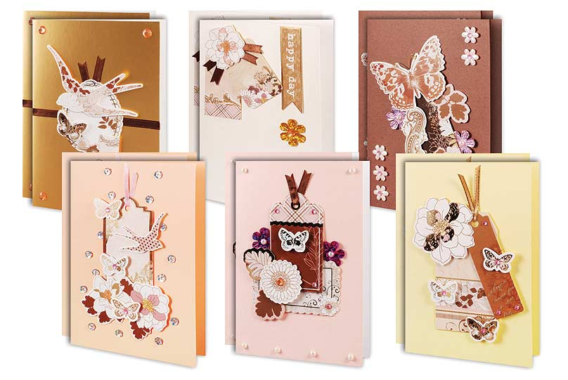 Набор для создания открыток В розовых тонах набор для создания открыток ретро