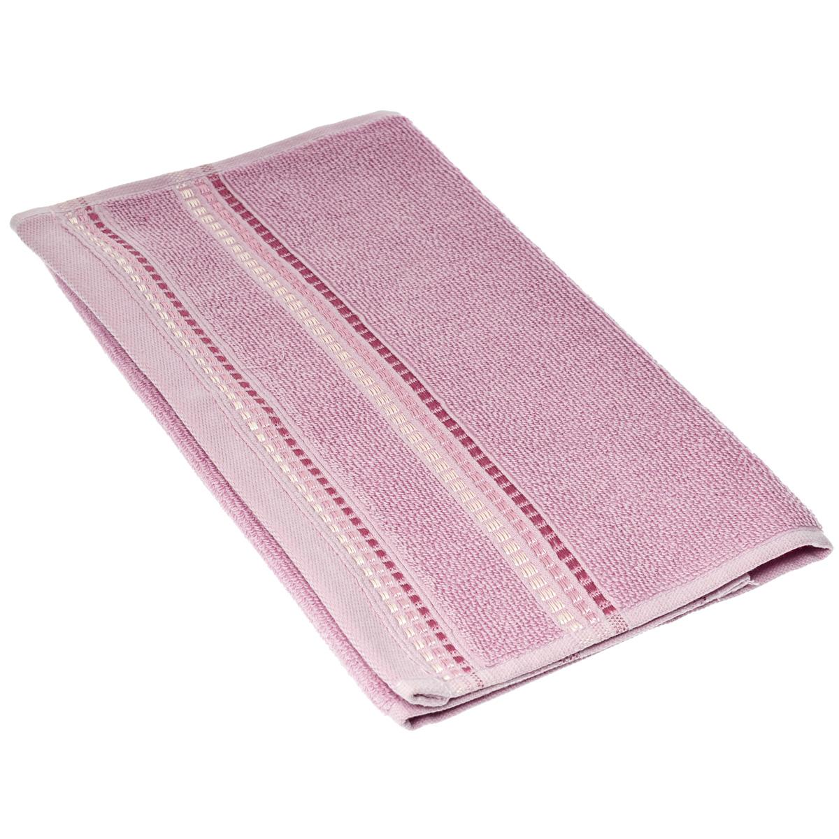 """Полотенце махровое Coronet """"Пиано"""", цвет: сиреневый, 30 см х 50 см"""