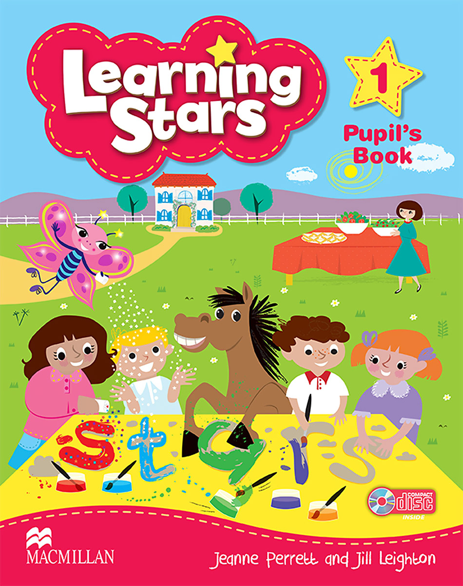 Learning Stars: Pupil's Book: Level 1 (+ CD-ROM) shooting stars starter level cd rom