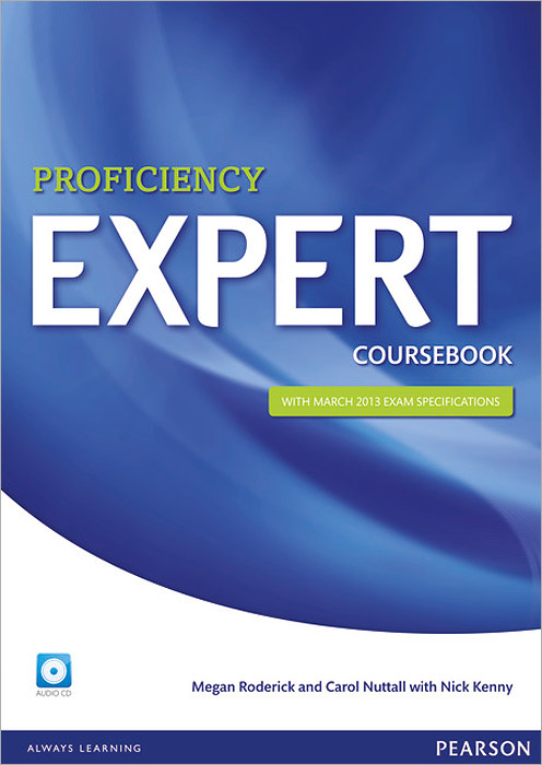 Expert Proficiency Coursebook (+ 2 CD) first expert coursebook with myenglishlab 2 cd