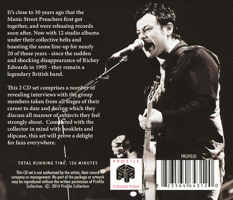 Manic Street Preachers. The Profile (2 CD)