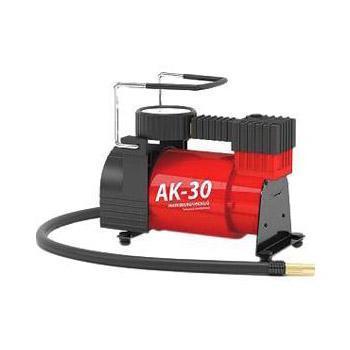 """Компрессор автомобильный """"Autoprofi AK-30"""", металлический, производительность 30 л/мин, 12В, 120Вт"""