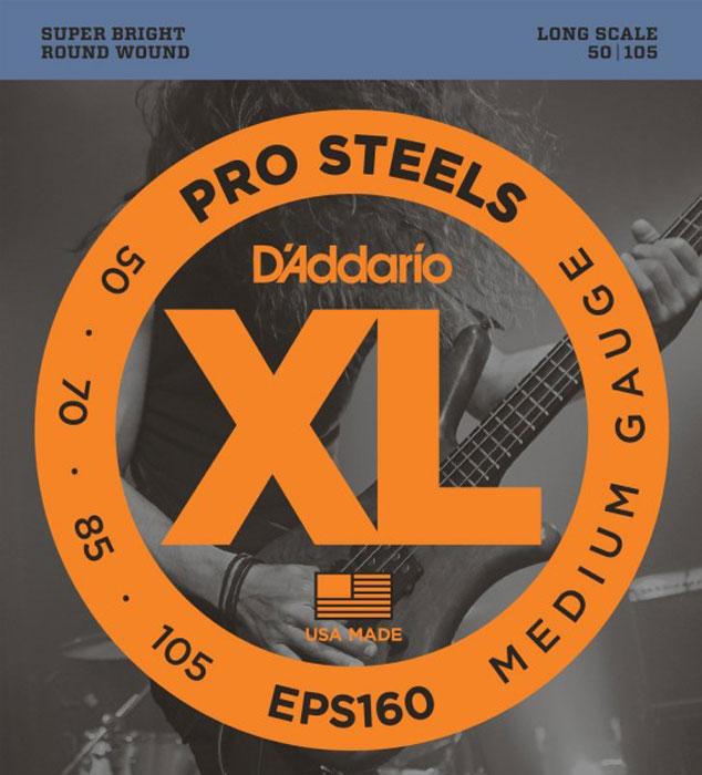 D'Addario EPS160 струны для бас-гитары цена