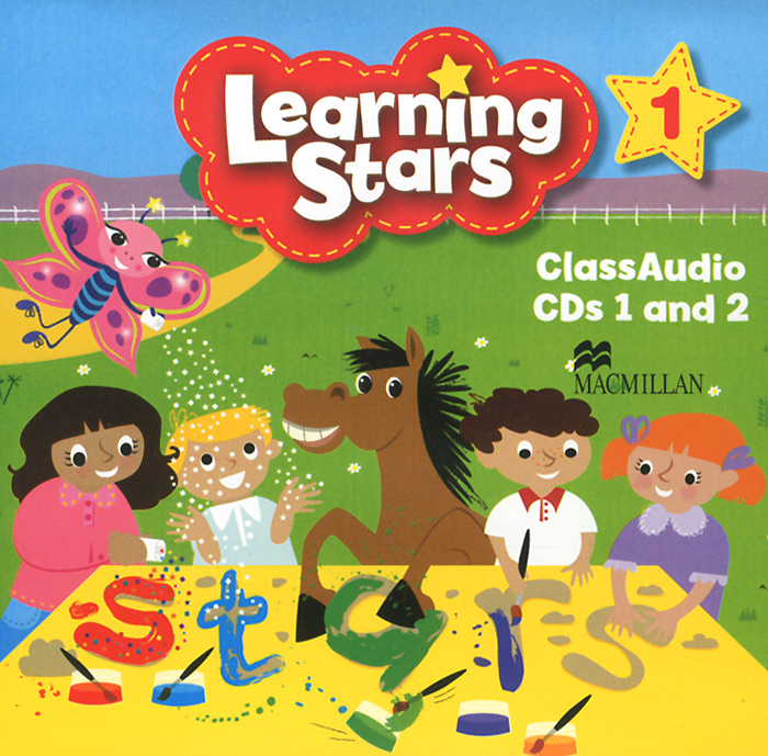 Learning Stars: Level 1: Class Audio CDs (аудиокурс на 2 CD) in company upper intermediate class audio cds аудиокурс на 4 cd