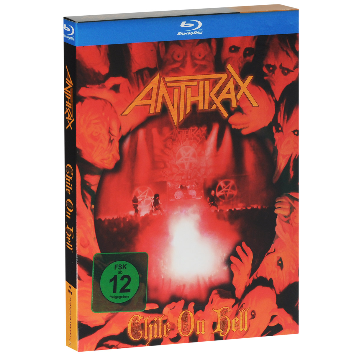 Anthrax. Chile on hell (Blu-ray + 2 CD) anthrax chile on hell blu ray