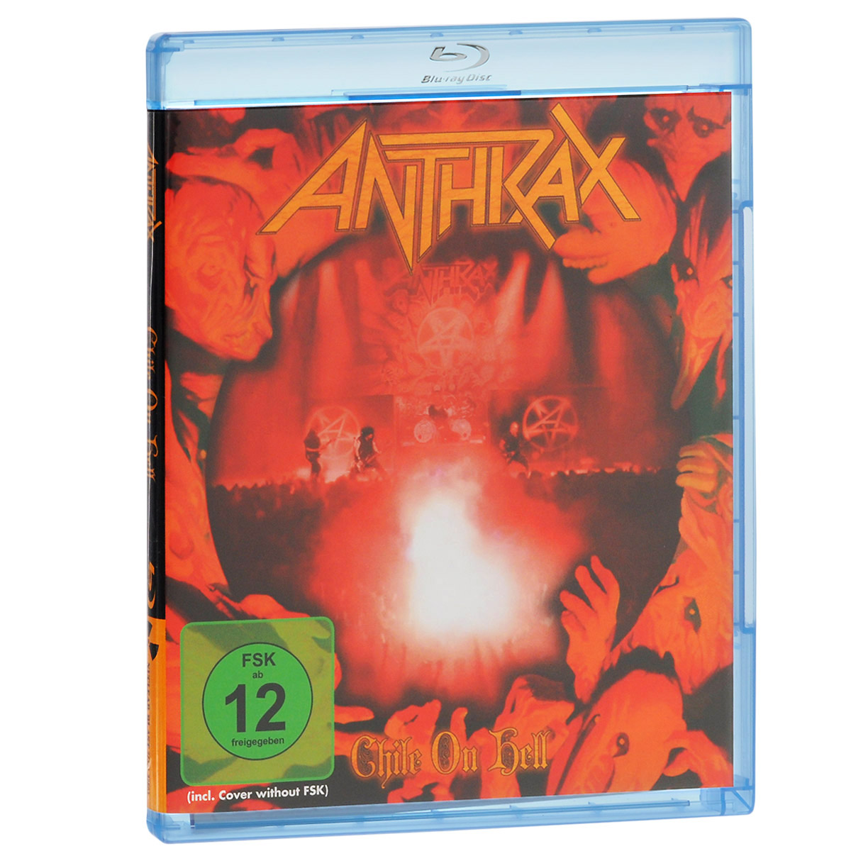 Anthrax. Chile On Hell (Blu-ray) anthrax chile on hell blu ray