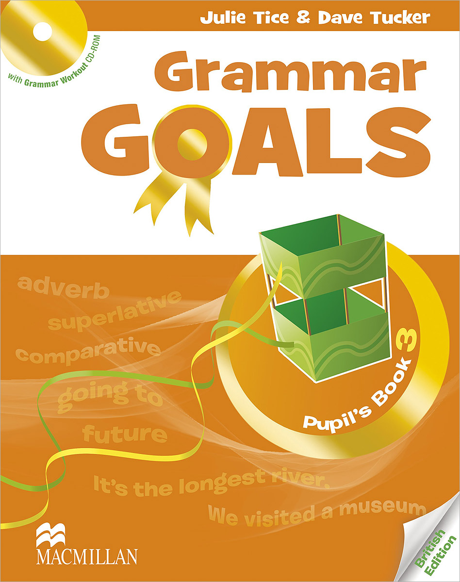 Grammar Goals: Pupil's Book: Level 3 (+ CD-ROM) the jungle book level 2 cd
