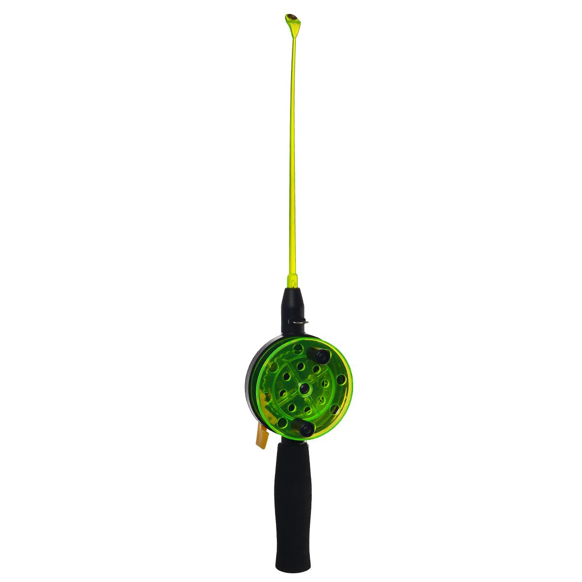 Удочка зимняя SWD HR201, цвет: черный, зеленый, 40 см. BJX0105