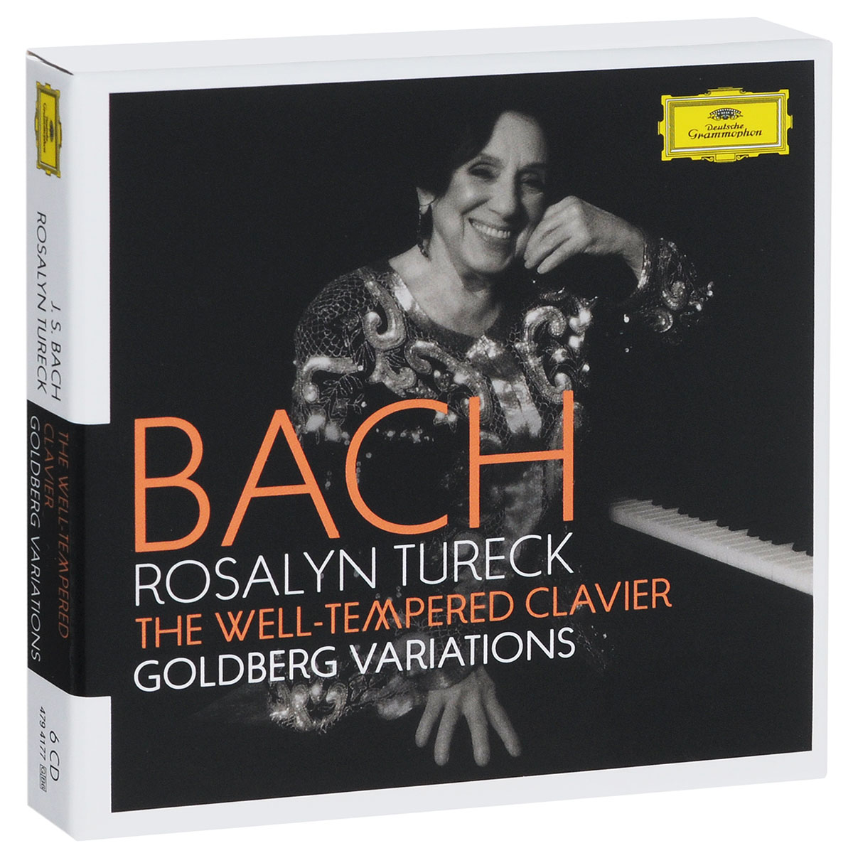 Розалин Тьюрек J. S. Bach / Rosalyn Tureck. The Well-Tempered Clavier / Goldberg Variations (6 CD) fuga короб прямоугольный 12х12х21 см 11 03 5 1 1 4 03 fuga