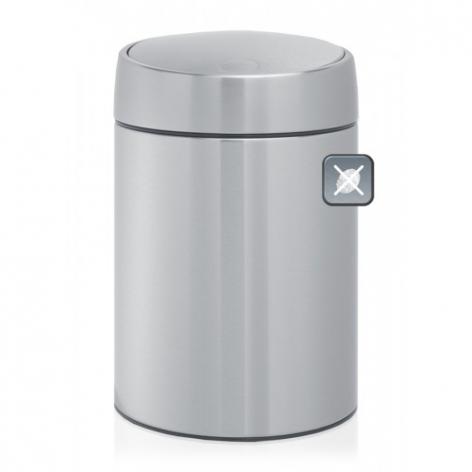 Бак мусорный Brabantia Slide Bin, цвет: стальной матовый FPP, 5 л. 477546 candy fpp 609