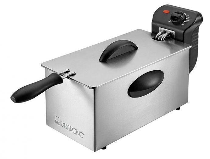 Clatronic FR 3586 Inox фритюрница недорого