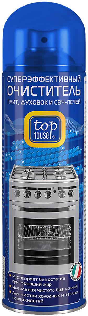 Очиститель плит, духовок и СВЧ-печей Top House, 500 мл средство для гриля барбекю и свч печей premium house 500 мл