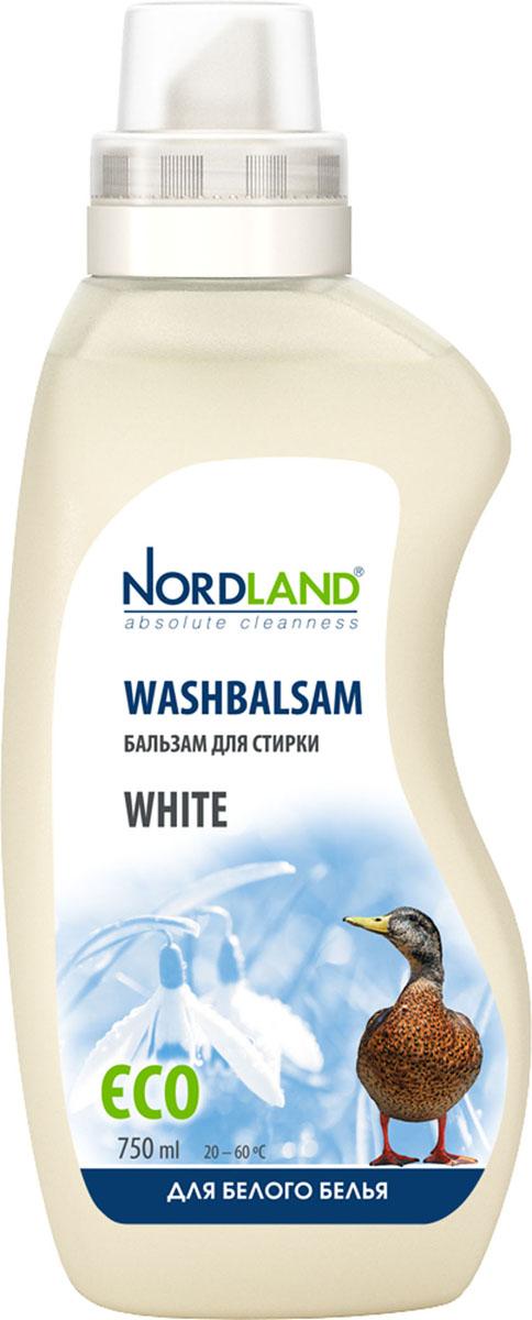 """Бальзам для стирки белого белья Nordland """"White"""", 750 мл"""