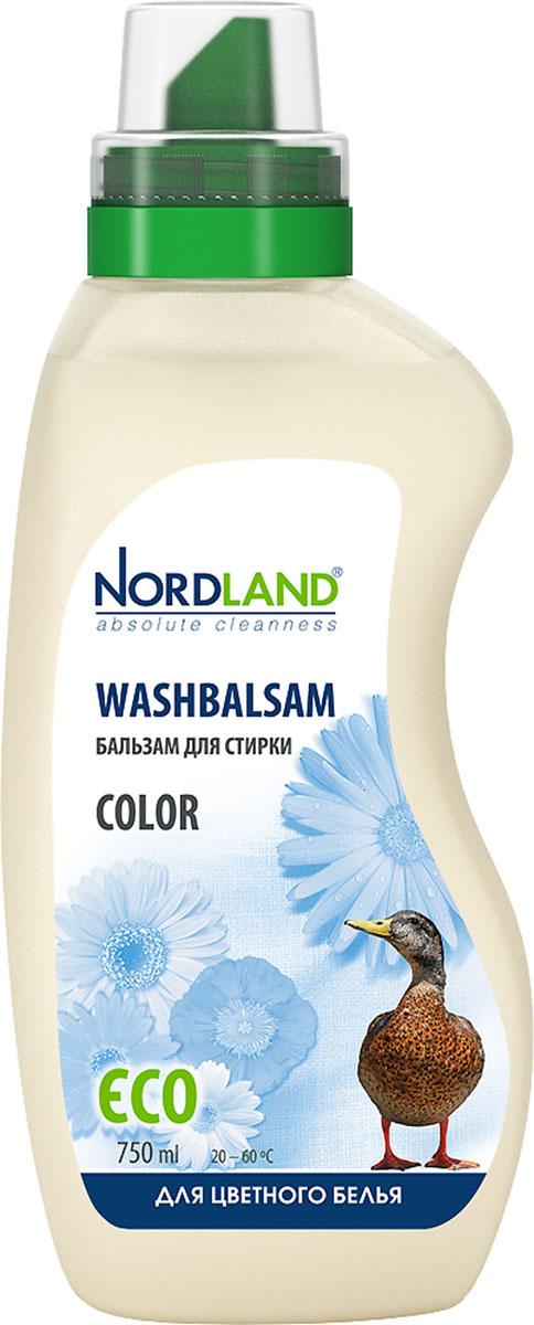 Бальзам для стирки цветного белья Nordland Color, 750 мл бальзам для стирки nordland 391015 750мл