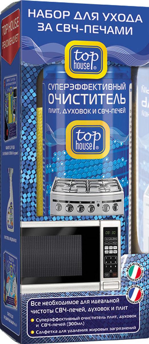 Набор для ухода за СВЧ-печами, духовками, плитами Top House, 2 предмета комплект для ухода за кухонными плитами top house 4 предмета