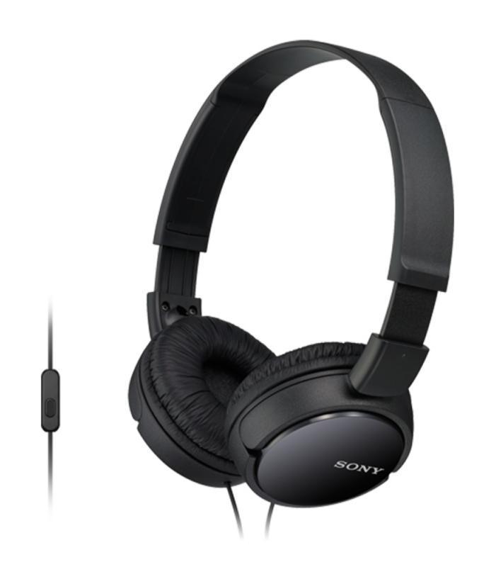 Sony MDR-ZX110AP, Black наушники sony mdr zx110ap черный